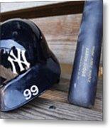 New York Yankees v Baltimore Orioles Metal Print