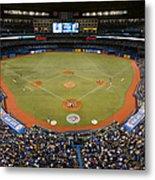 New York Yankees V. Toronto Blue Jays Metal Print