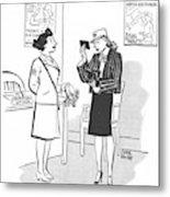 New Yorker April 29th, 1944 Metal Print