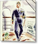 New Yorker April 9 1938 Metal Print
