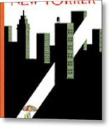 New Yorker August 20th, 2007 Metal Print