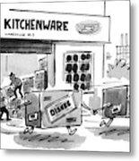 New Yorker August 23rd, 1993 Metal Print