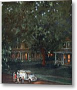 New Yorker August 24th, 1957 Metal Print
