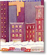 New Yorker December 13th, 1982 Metal Print