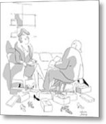 New Yorker December 14th, 1946 Metal Print
