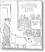 New Yorker December 22nd, 1997 Metal Print