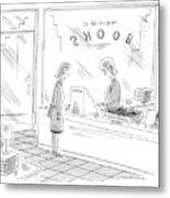 New Yorker December 27th, 1999 Metal Print