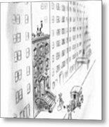 New Yorker February 17th, 1940 Metal Print