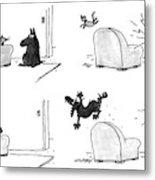 New Yorker February 22nd, 1993 Metal Print