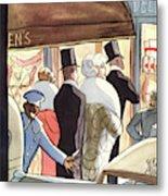 New Yorker January 14th, 1933 Metal Print