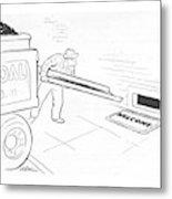 New Yorker January 15th, 1944 Metal Print