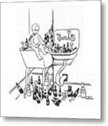 New Yorker January 1st, 1938 Metal Print