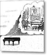 New Yorker January 24th, 1994 Metal Print