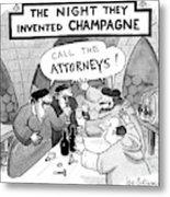 New Yorker January 8th, 1990 Metal Print