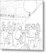 New Yorker July 20th, 1998 Metal Print