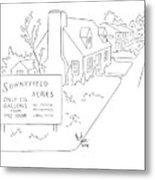 New Yorker July 25th, 1942 Metal Print