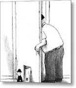 New Yorker July 8th, 1996 Metal Print
