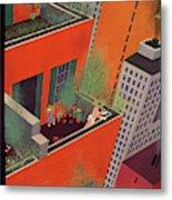 New Yorker June 12th, 1937 Metal Print
