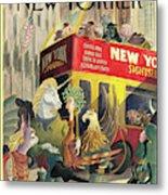 New Yorker June 16th, 1997 Metal Print