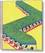 New Yorker June 21st, 1930 Metal Print
