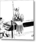 New Yorker June 22nd, 1987 Metal Print