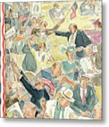 New Yorker June 24th, 1944 Metal Print
