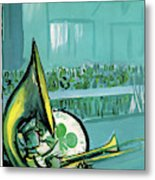 New Yorker March 18th, 1961 Metal Print