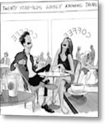 New Yorker March 20th, 2017 Metal Print by Will McPhail