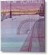 New Yorker March 31st, 1980 Metal Print