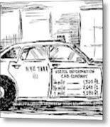 New Yorker May 17th, 1999 Metal Print