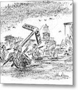New Yorker May 20th, 1944 Metal Print