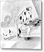 New Yorker May 23rd, 2005 Metal Print