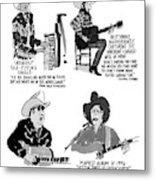 New Yorker May 27th, 1996 Metal Print