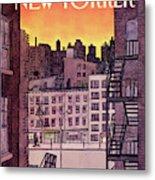 New Yorker November 25th, 1985 Metal Print