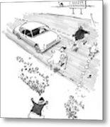 New Yorker October 13th, 1997 Metal Print