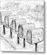 New Yorker October 26th, 1992 Metal Print