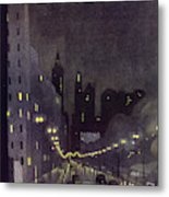 New Yorker October 29 1932 Metal Print