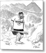 New Yorker October 3rd, 1994 Metal Print