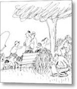 New Yorker October 7th, 1991 Metal Print