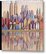 New Yorker September 15th, 2003 Metal Print
