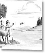 New Yorker September 24th, 1990 Metal Print