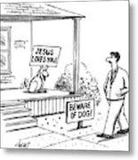New Yorker September 27th, 1993 Metal Print