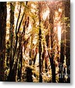 New Zealand Bush Metal Print