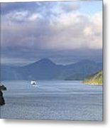 New Zealand Ferry  Metal Print