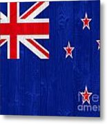 New Zealand Flag Metal Print