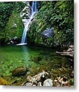 New Zealand Mountain Pure Metal Print