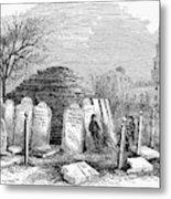 Newark Cemetery, 1876 Metal Print