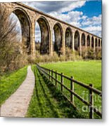 Newbridge Rail Viaduct Metal Print
