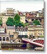 Newcastle Upon Tyne Quayside Metal Print
