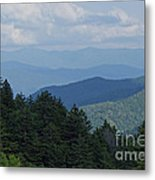 Newfound Gap Metal Print